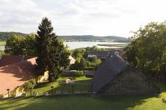 Lago interno en Tihany Fotos de archivo libres de regalías