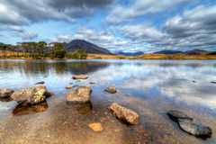 Lago irlandês de Connemara Foto de Stock Royalty Free