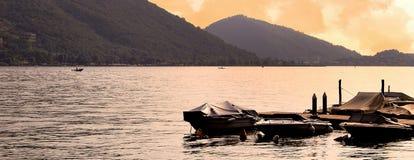 Lago Iseo Imágenes de archivo libres de regalías