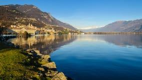 Lago Iseo Imagem de Stock Royalty Free