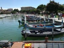 Lago Iseo (Italia) fotografie stock libere da diritti