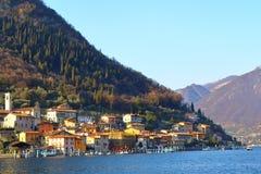 Lago Iseo, Italia Imágenes de archivo libres de regalías