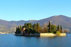 Lago Iseo, Italia Imagen de archivo libre de regalías