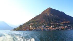 Lago Iseo, Italia Fotos de archivo libres de regalías