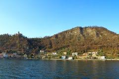 Lago Iseo, Italia Fotografía de archivo libre de regalías