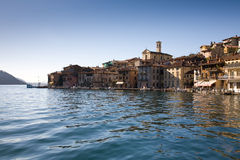Lago Iseo, Italy foto de stock royalty free
