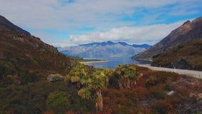 Lago, isola del sud, Nuova Zelanda Fotografia Stock