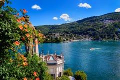 Lago Isolabella Islad Maggiore Immagini Stock Libere da Diritti