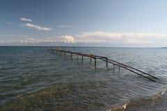 Lago Issyk-Kul Fotografia Stock