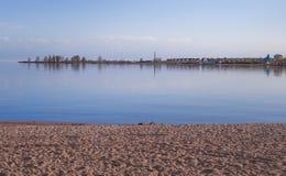 Lago Issyk-Kul imágenes de archivo libres de regalías