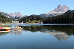 Lago italiano   Imagen de archivo libre de regalías
