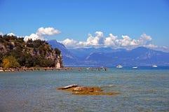 Lago italiano Foto de Stock