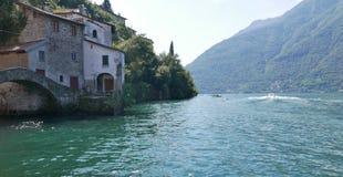 Lago italiano Fotografía de archivo libre de regalías