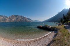 Lago italiano della montagna Immagine Stock