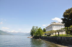 Lago italiano famoso Como Imágenes de archivo libres de regalías