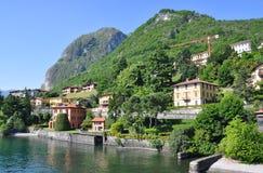 Lago italiano famoso Como Foto de Stock