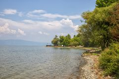 Lago Iznik fotos de archivo libres de regalías