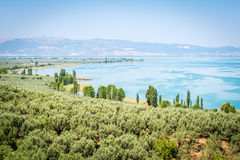 Lago Iznik em Turquia Imagem de Stock Royalty Free