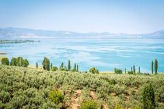 Lago Iznik em Turquia Foto de Stock Royalty Free