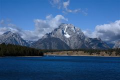 Lago jackson Immagini Stock