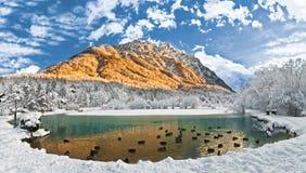 Lago Jasna Fotos de archivo