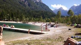 Lago Jasna Imagenes de archivo