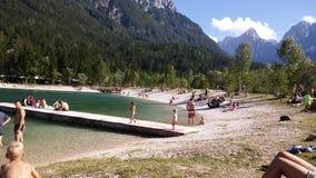 Lago Jasna Fotografía de archivo libre de regalías