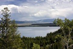 Lago jenny Immagine Stock Libera da Diritti
