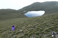 Lago Jiaming Foto de archivo