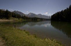 Lago Johnson Foto de archivo libre de regalías