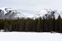 Lago Johnson Imagen de archivo libre de regalías
