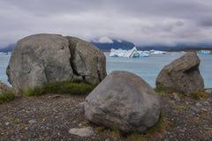Lago Jokulsarlon in Islanda fotografia stock libera da diritti
