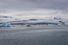 Lago Jokulsarlon in Islanda immagine stock libera da diritti