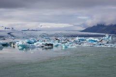 Lago Jokulsarlon in Islanda fotografie stock libere da diritti