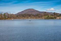 Lago Junaluska, Nord Carolina Fotografia Stock Libera da Diritti