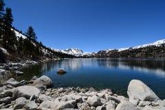 Lago june, parque nacional, California foto de archivo libre de regalías