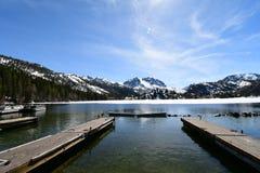 Lago june, parque nacional, California fotografía de archivo libre de regalías