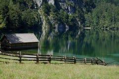 Lago Königssee Foto de archivo