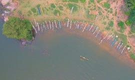 Lago Kalawewa in Sri Lanka immagine stock