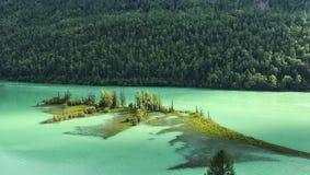 Lago Kanas fotografia stock libera da diritti