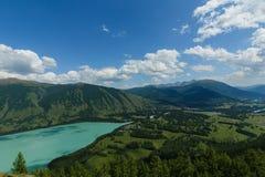 Lago Kanas Fotografie Stock Libere da Diritti