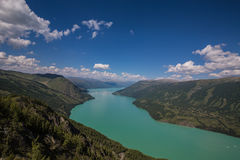 Lago Kanas Fotografie Stock