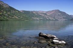 Lago Kanas, Cina Fotografia Stock