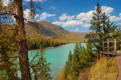 Lago Kanasi Foto de Stock Royalty Free