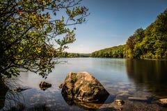 Lago Kanawauke Imagen de archivo libre de regalías