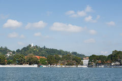 Lago Kandy, Sri Lanka Fotografía de archivo
