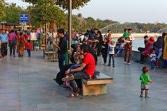Lago Kankaria de Ahmadabad Fotografía de archivo libre de regalías