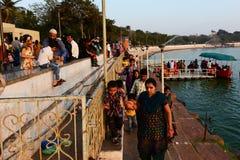 Lago Kankaria de Ahmadabad Fotos de archivo