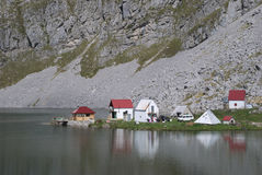 Lago Kapetanovo, Montenegro Fotografia Stock Libera da Diritti