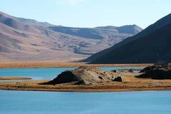 Lago Kara-Kul Imagens de Stock Royalty Free